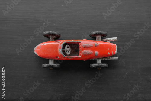 Red Formula One Vintage and Retro Miniature Car