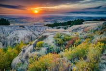 Badlands National Park Sunrise