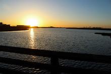 Sunset Over Bolsa Chica Wetlan...