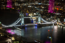 London, England - Tower Bridge...