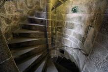 Old Stone Spiral Staircase Goi...