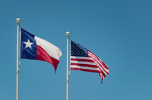 The State Flag Of Texas And Am...