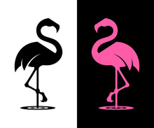 Vector Flamingo Silhouette