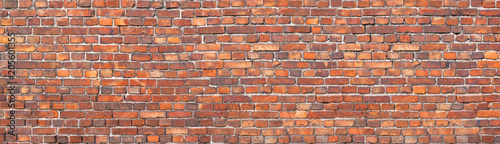 Photo sur Toile Brick wall brick wall texture, background of old brickwork.