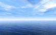 Leinwanddruck Bild Sea and clouds sky