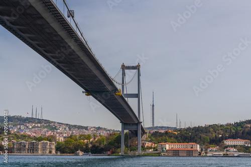 Fotografie, Obraz Bosphorus bridge , Istanbul   Turkey