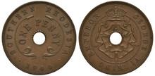 Southern Rhodesia Coin One Pen...