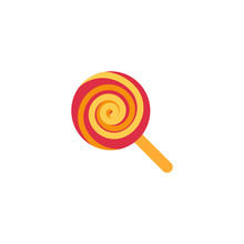 Lollipop, Candy Sweet Dish Foo...