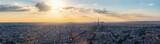 Fototapeta Fototapety Paryż - Paris skyline - panorama