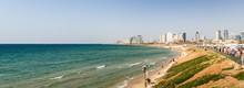 Promenade And Beach Of Tel Avi...