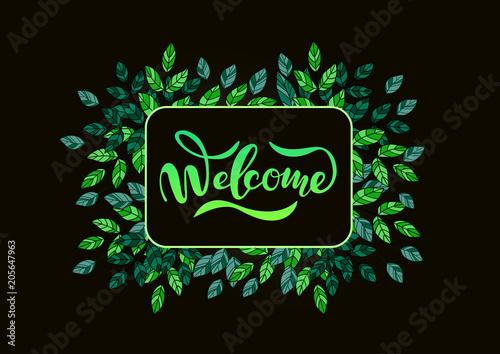 welcome1 Fotobehang