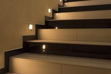 Yellow Stairs Up With Illumina...