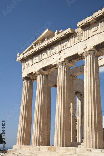 Plakat Filary w Partenon
