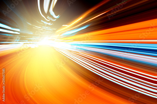 Photo abstract speed motion