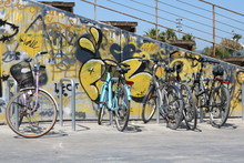 Urban Bicycles In The Marina I...