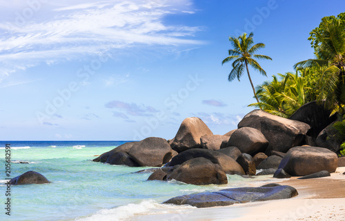 Fotografie, Obraz  Paradise beach in the Seychelles