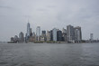 Manhattan Skyline from Staten Island's ferry