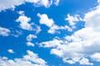 Leinwandbild Motiv 初夏の青空