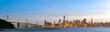 canvas print picture San Francisco downtown skyline