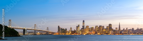 Poster San Francisco San Francisco downtown skyline