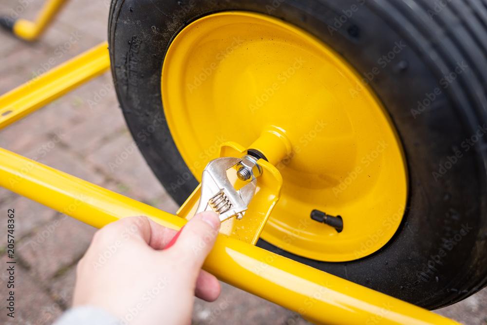 Reifen für schubkarre
