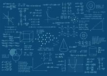 Math Formula Background