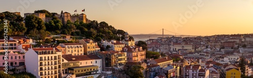 Lisbon Sunset Wallpaper Mural