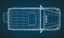 Model Of Premium Frame SUV Wit...
