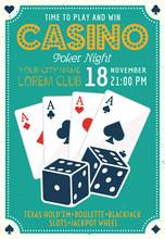 Casino And Poker Invitation Co...