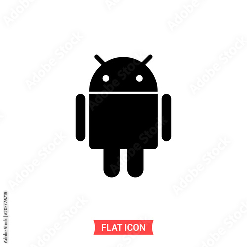 Photo Android vector icon