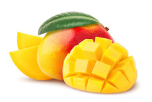 Mango Isolated On White Backgr...