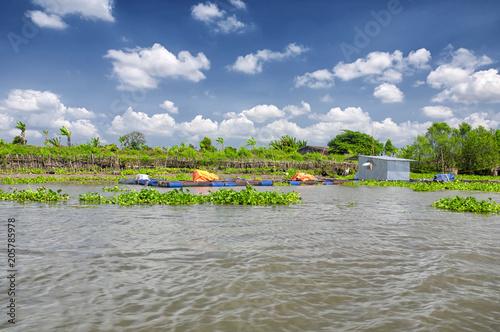 Foto  Mekong River Vietnam Southeast Asia