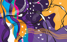 Abstract Background For Print,...