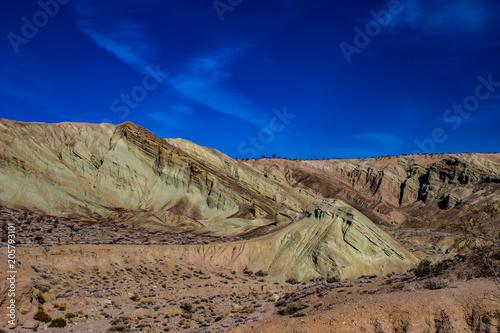 Zdjęcie XXL Rainbow Basin Mojave Desert Slot Owl Canyon