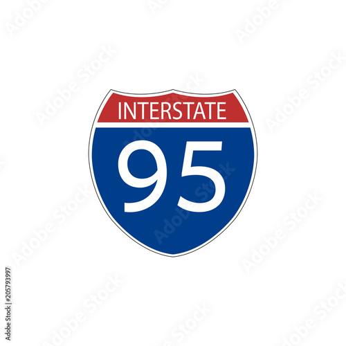 Fotografía  USA traffic road signs