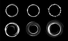 Space Black Hole Set. Swirl Ab...