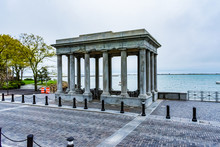 Structure Surrounding Plymouth Rock