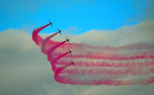 The Red Arrows Flying Display ...