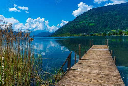 Photo  Holzsteg am Ossiacher See