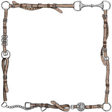 Equestrian Belt Frame. English...