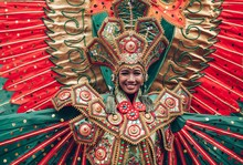 Woman In Traditional Indonesia...