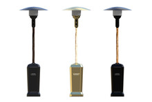 Set Of Patio Heaters Isolated ...