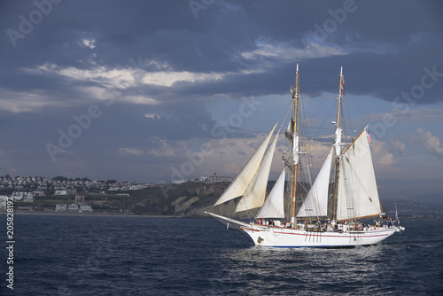 Foto auf AluDibond Schiff Tall ship under sail