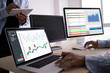 canvas print picture - work hard Data Analytics Statistics Information Business Technology