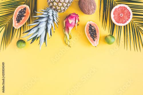 Cuadros en Lienzo  Summer fruits