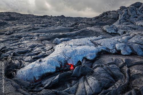 Staande foto Vulkaan Active volcano