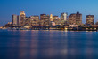 View of Boston downtown, USA