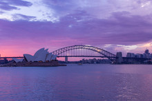 Opera House And Harbour Bridge...