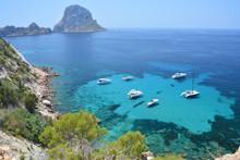 Es Vedra Islet Of Ibiza Island