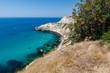 view of the cliff in Fiolente, Sevastopol